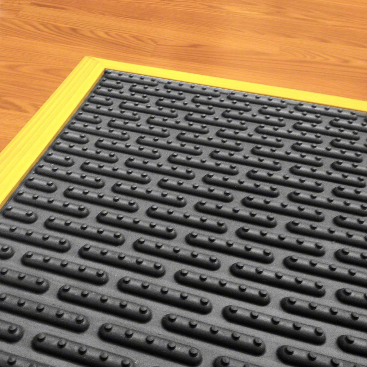 Ergomat floor matting can be installed on the entire floor or in special areas needing protection