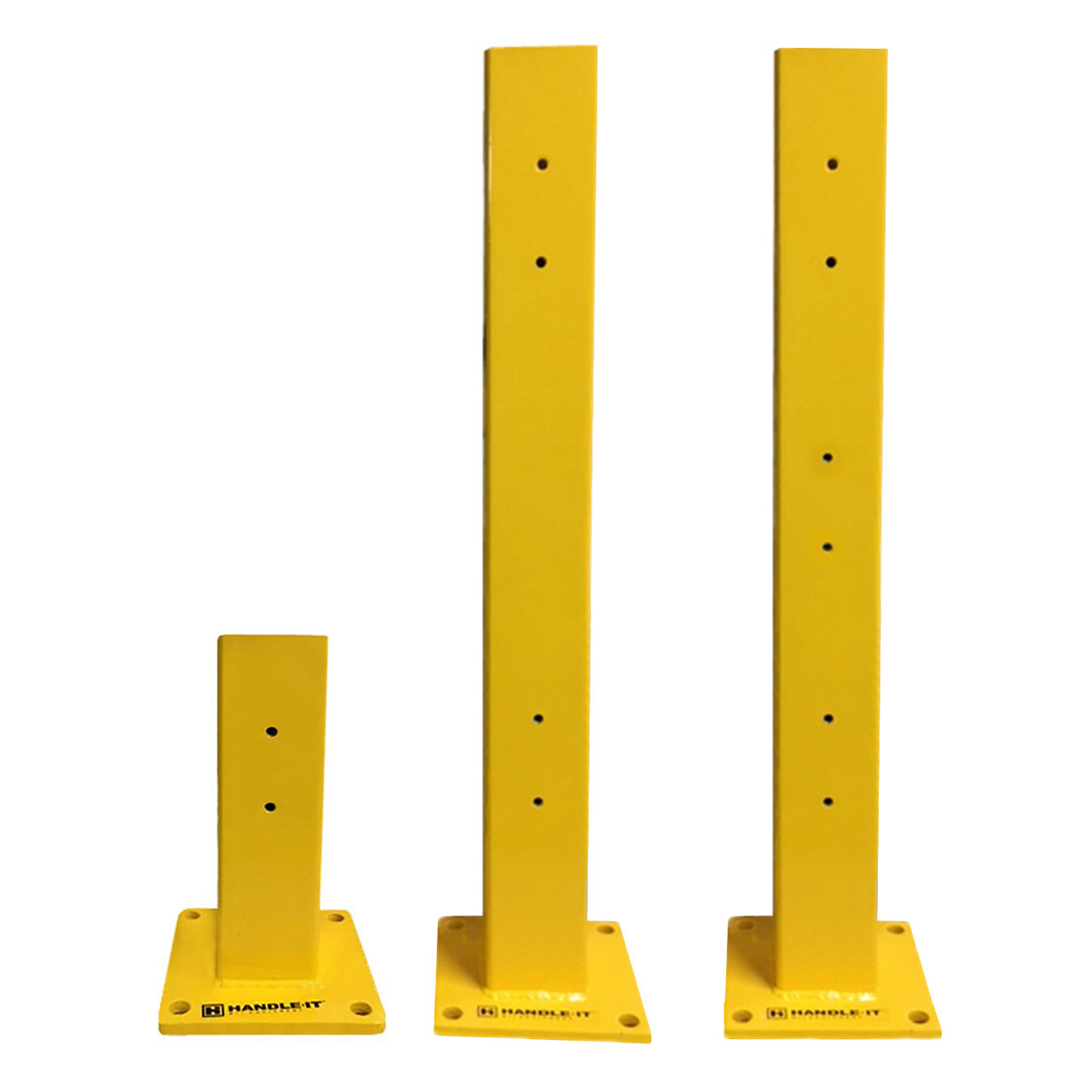 Two column heights to choose from with the option of one to three rails