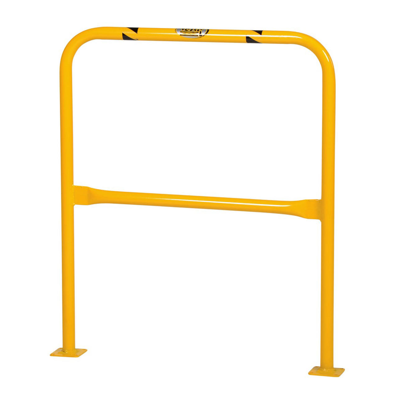 "42"" machinery guards have an additional rail for support"