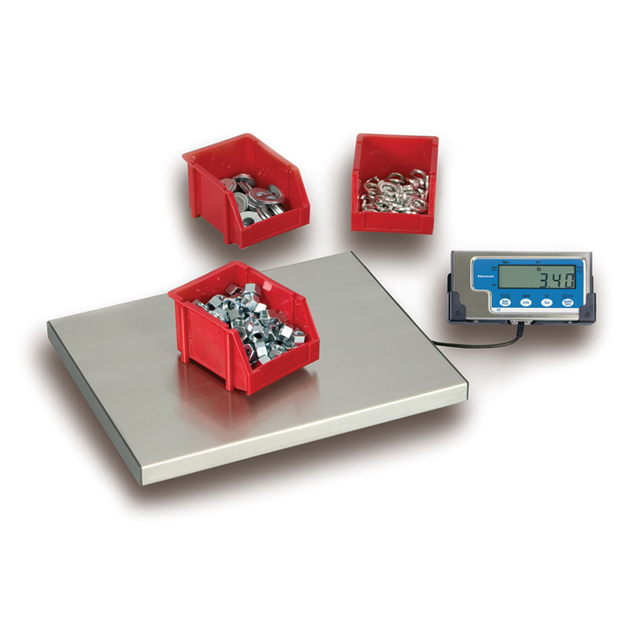 Stainless Steel Platform Bench Scale Weighing Containers