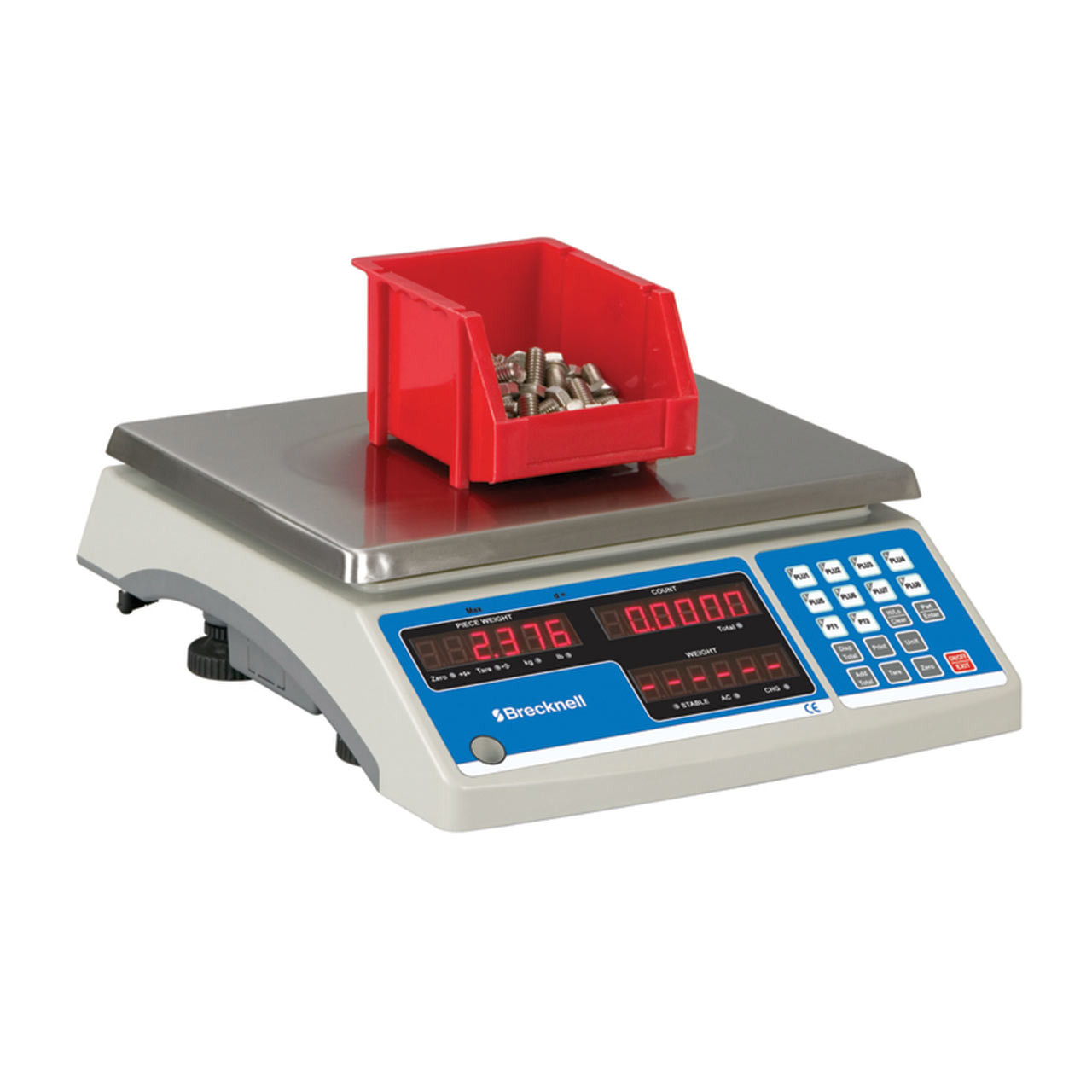 High Accuracy Counting Scale Side View Weighing Container