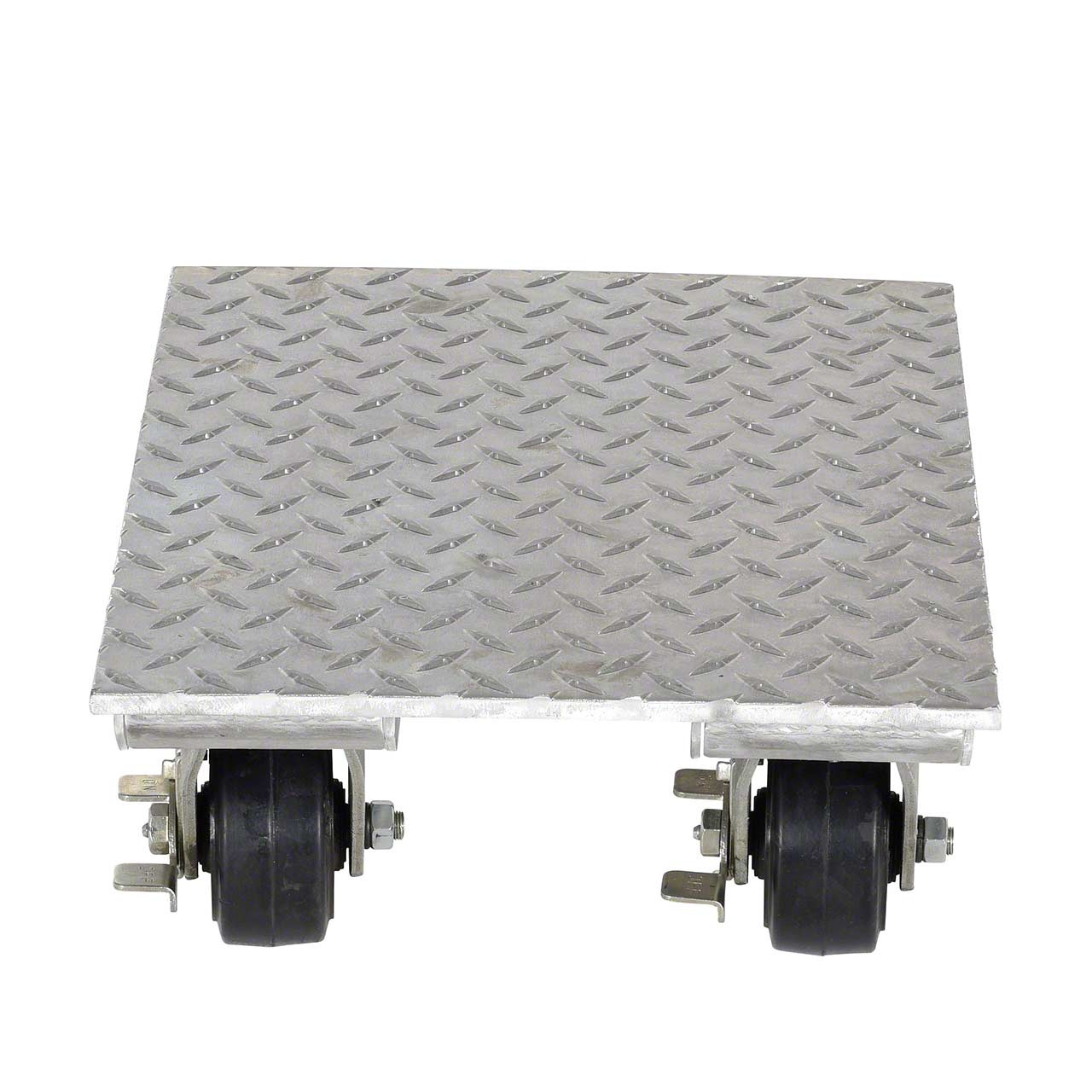 Aluminum Plate Dolly Front View
