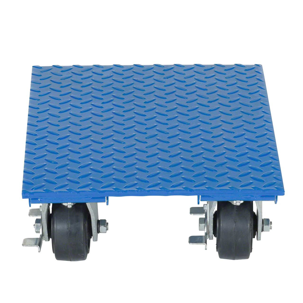 Steel Plate Dolly Front View