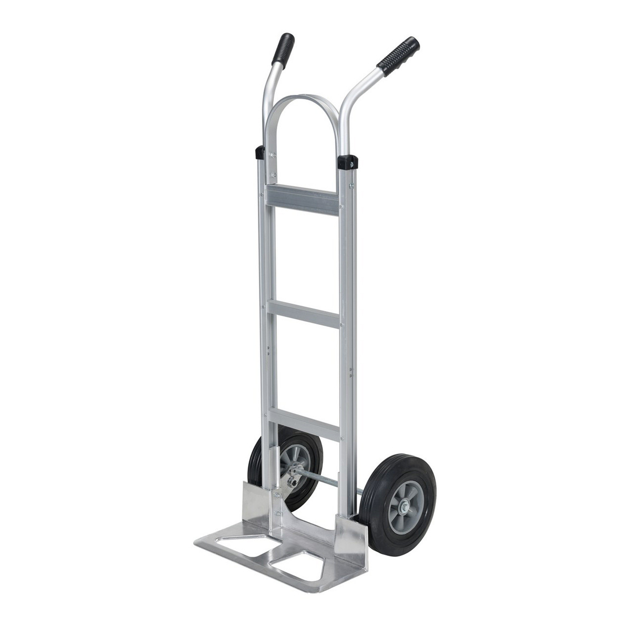 Dual Handle Hand Cart with Aluminum Noseplate