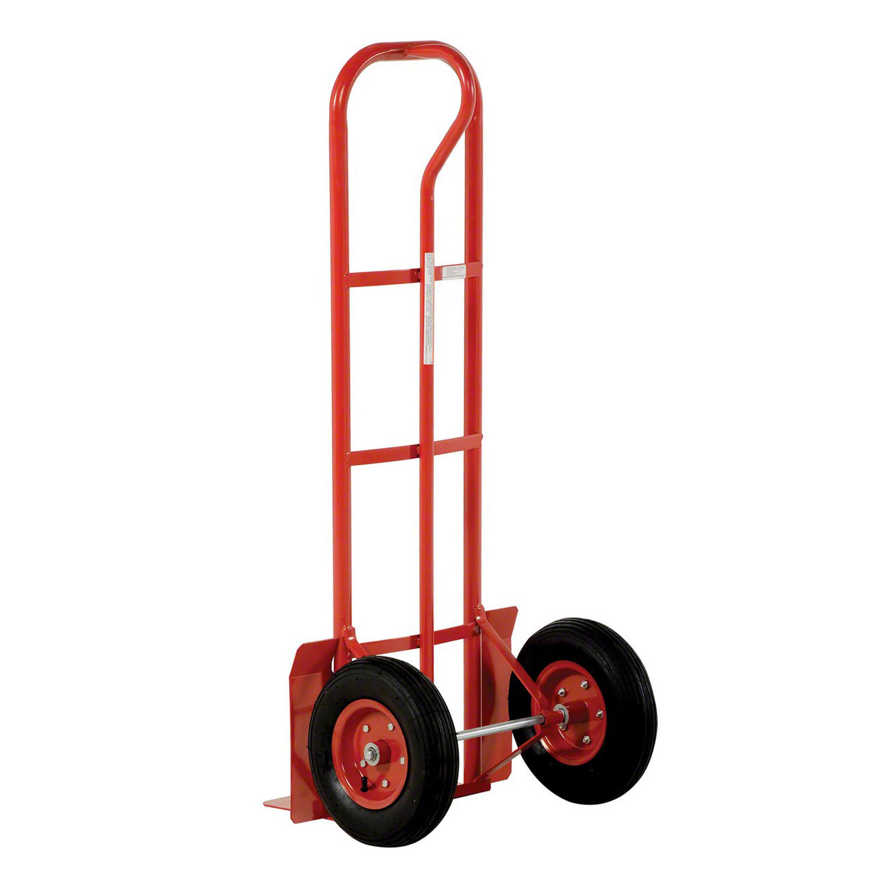 Red Steel P Handle Hand Truck