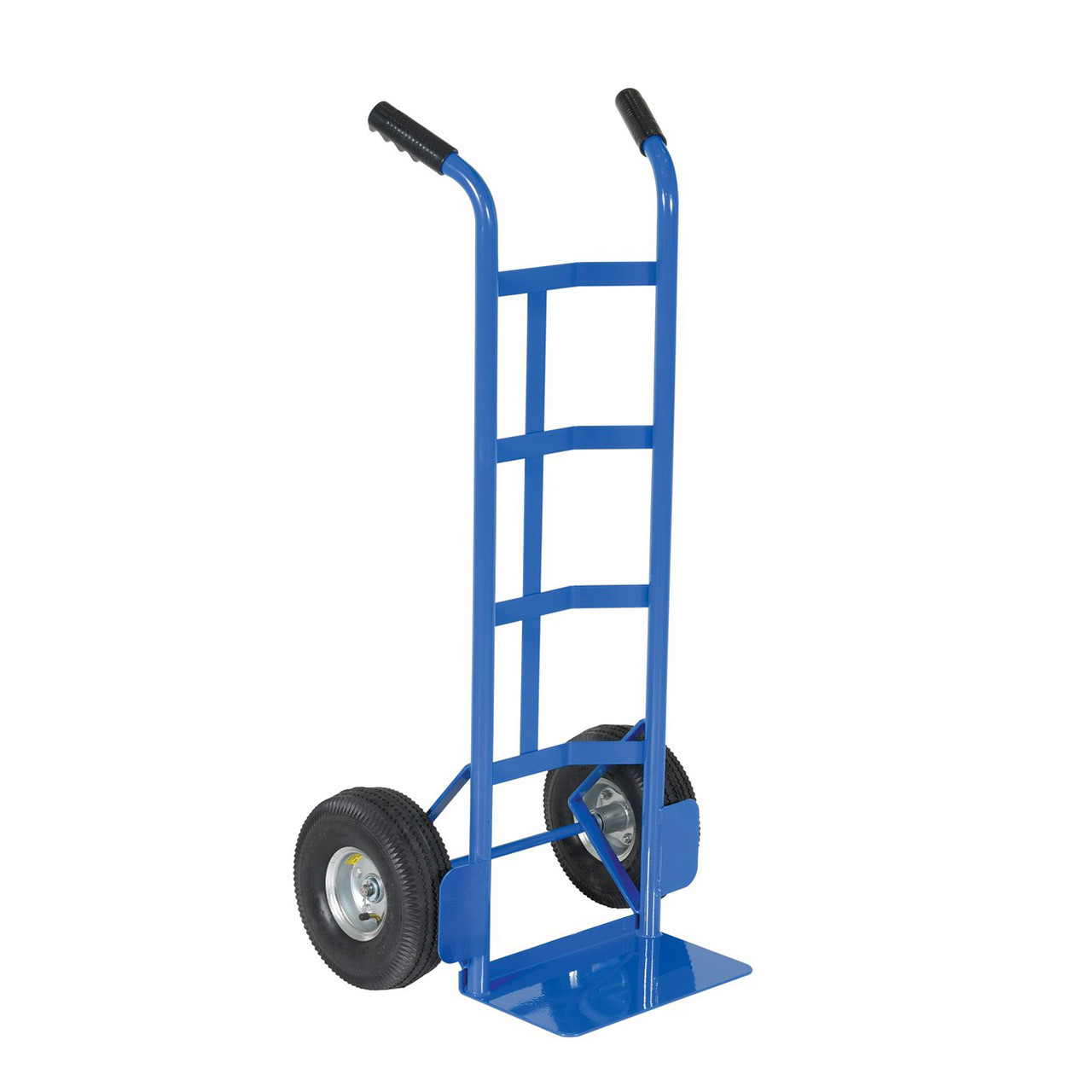 Steel Dual Handle Hand Cart Side View