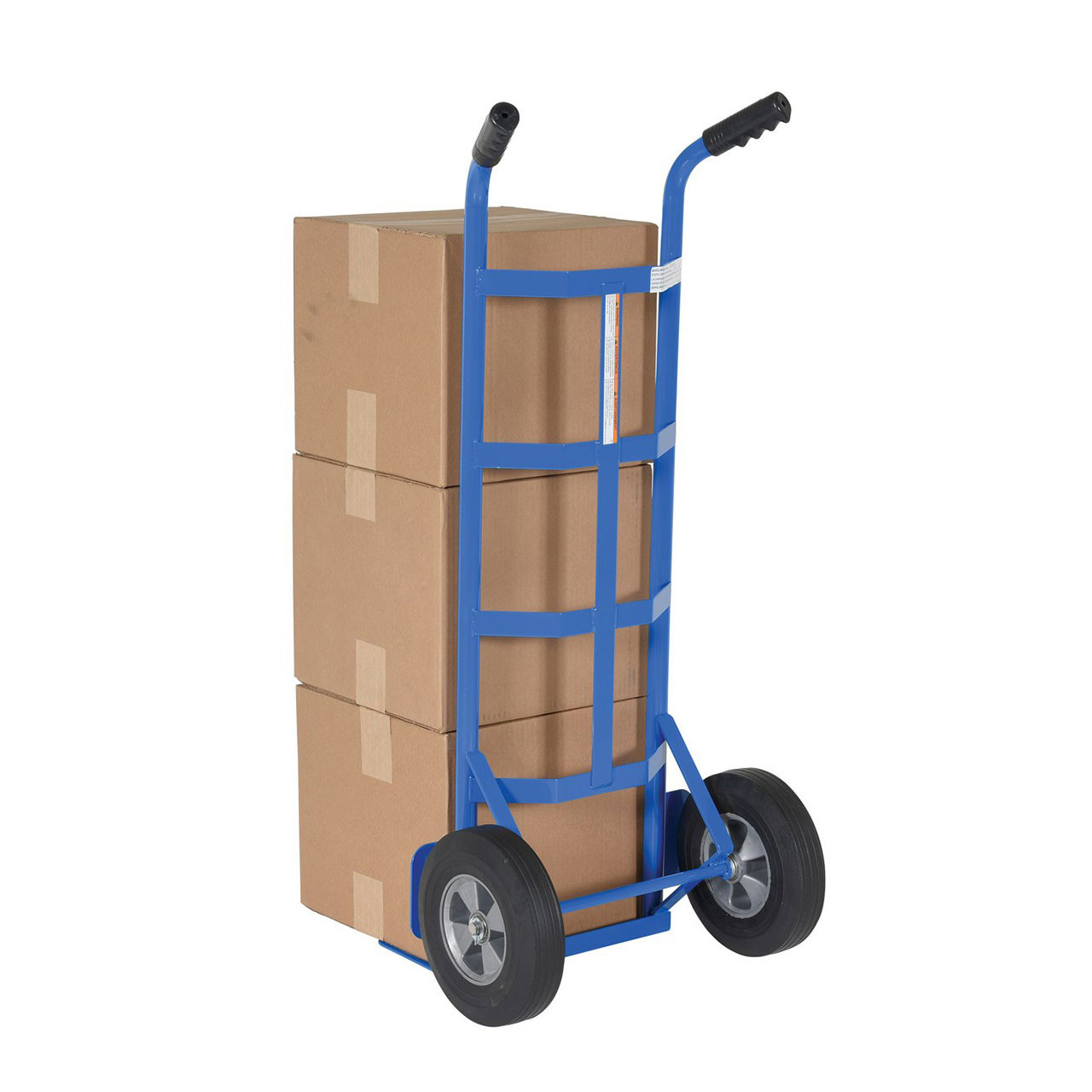 Boxes on Steel Dual Handle Hand Cart
