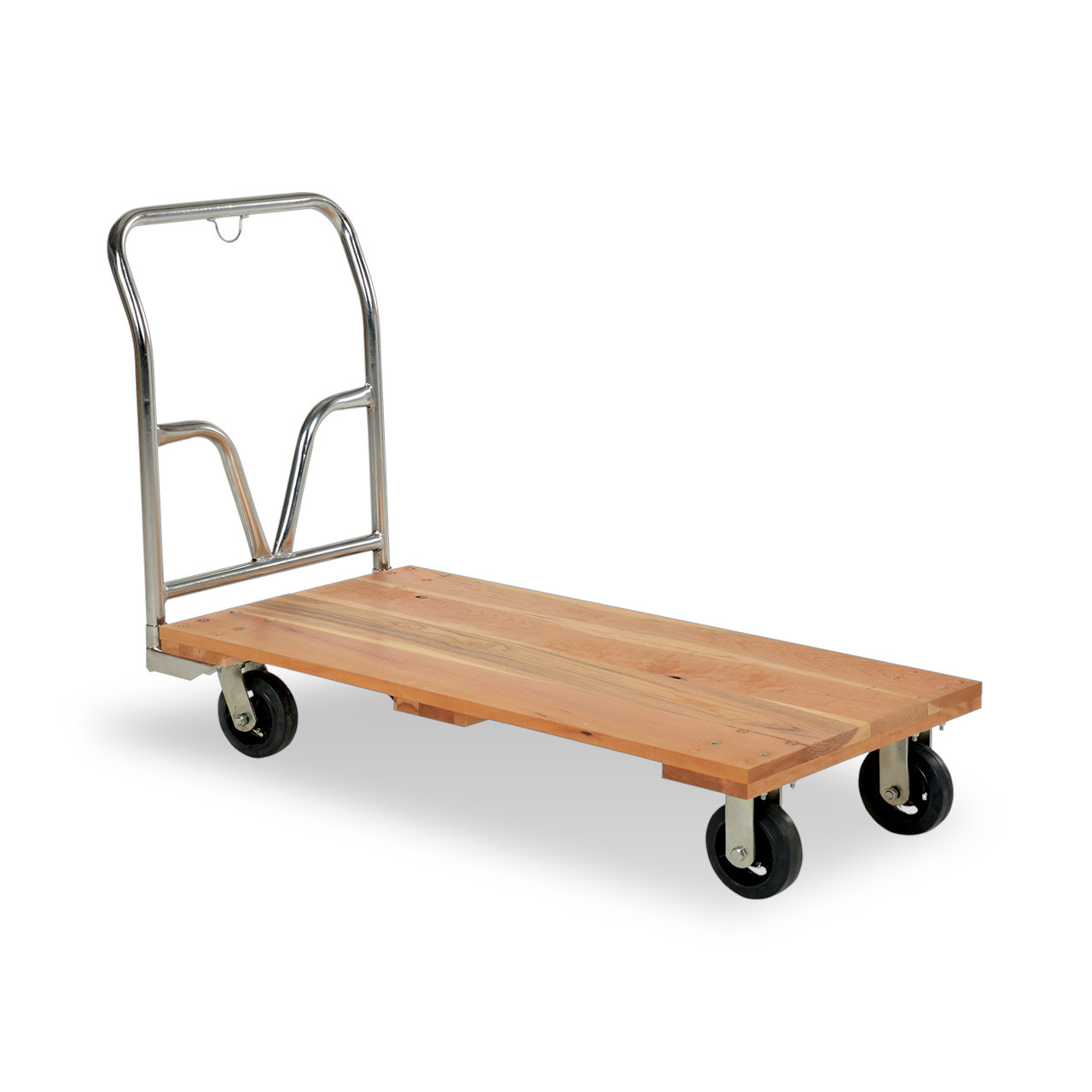 Wood Platform Cart