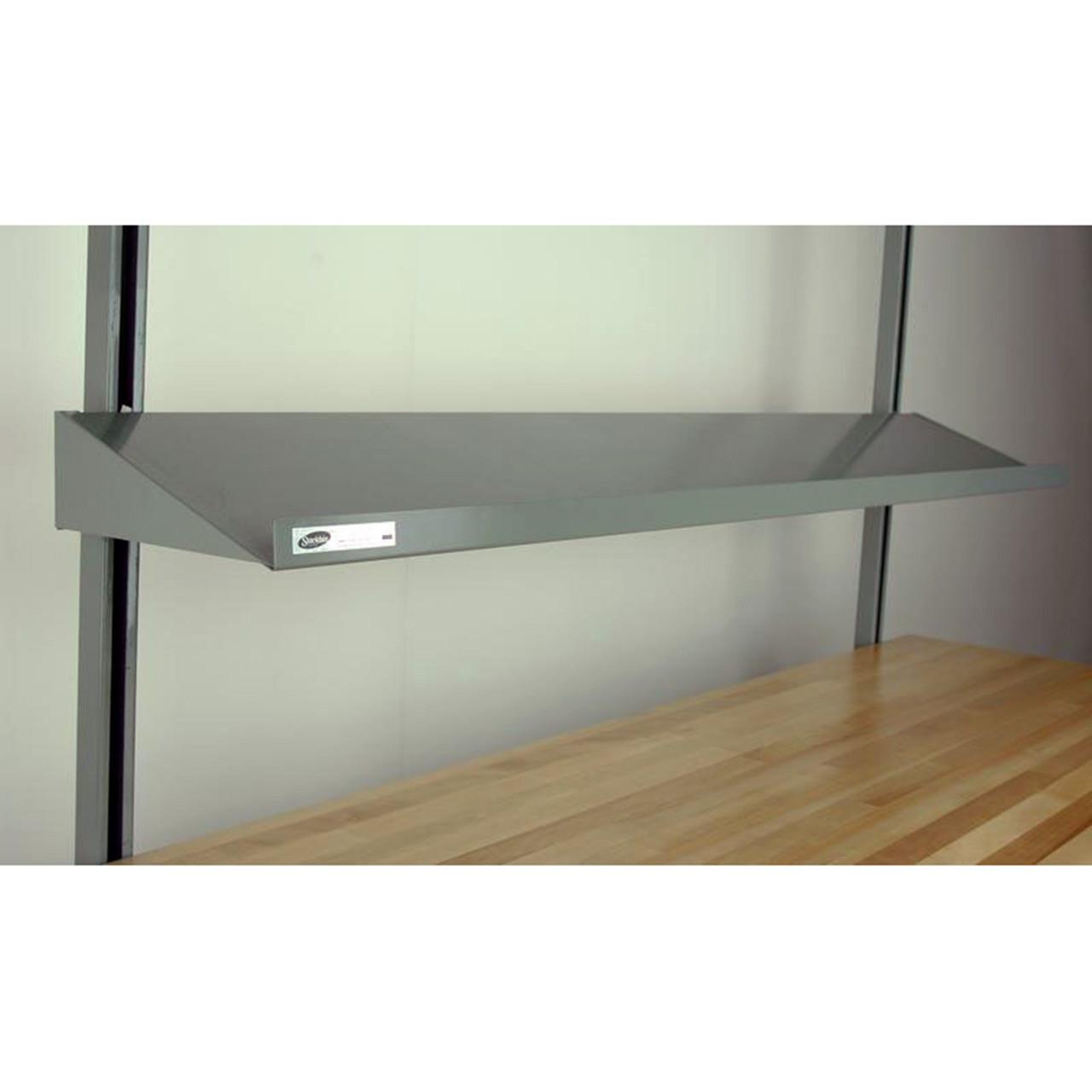 Workbench Full-Width Steel Shelve Angled