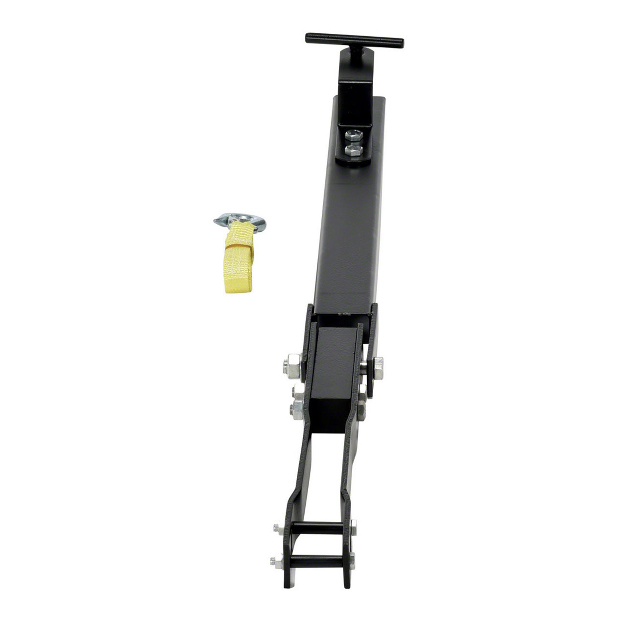 The manual all terrain pallet jack tow package accessory and safety strap