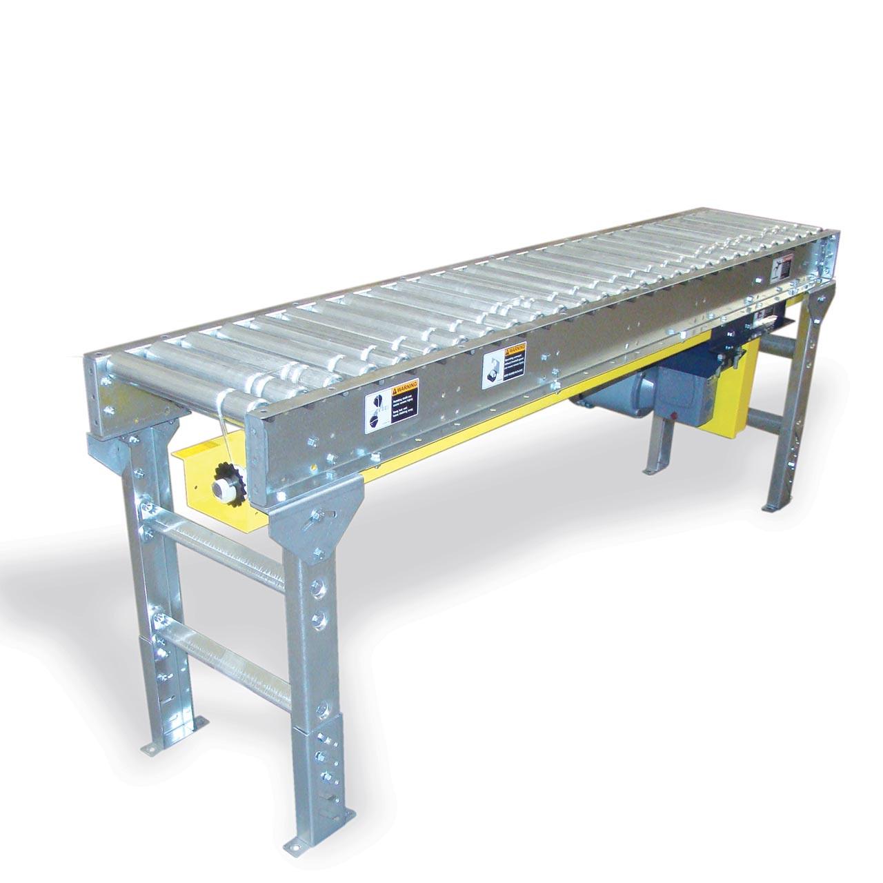 Lineshaft Conveyor Straight Section