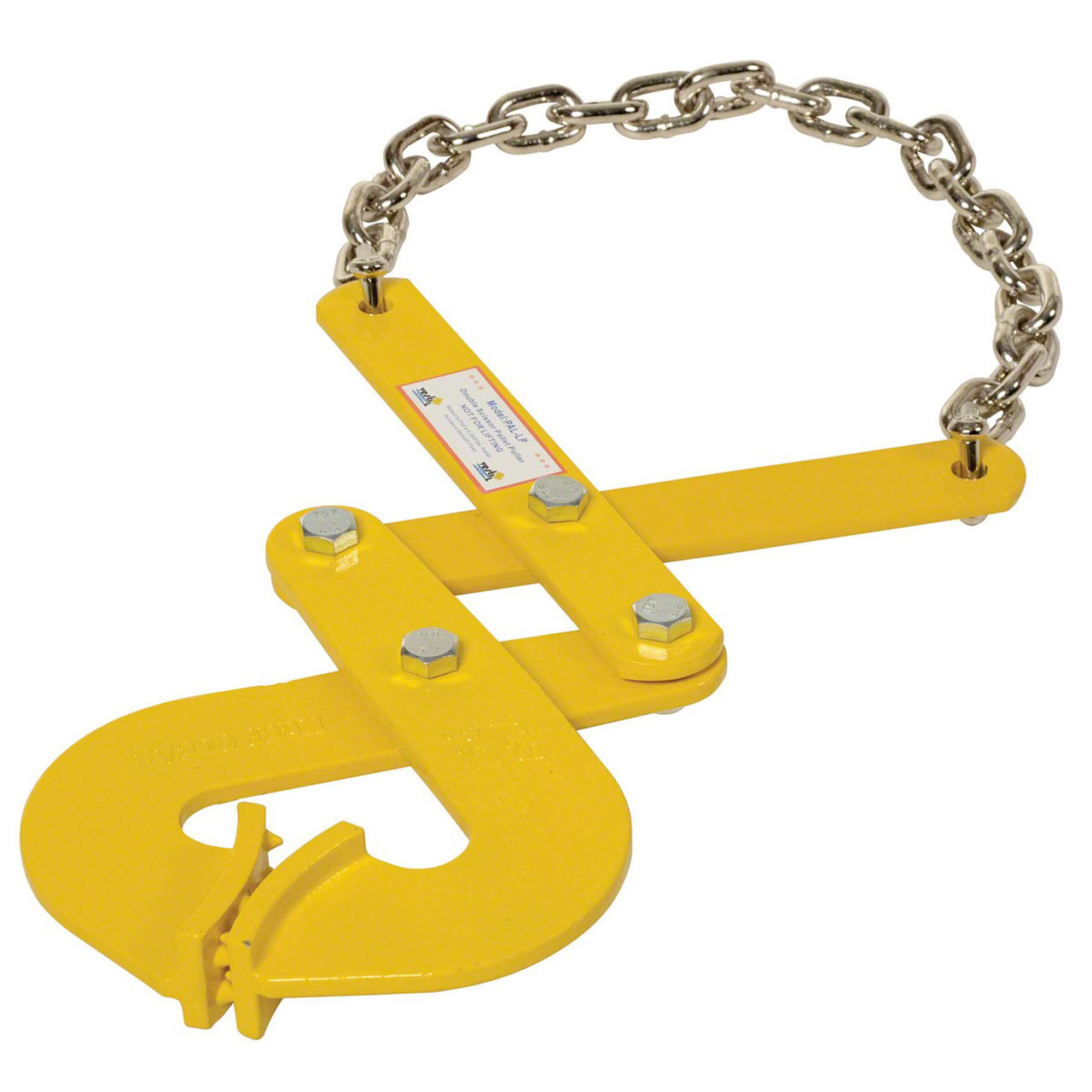 The PAL-LP pallet pullers are a low profile design for strong stringer gripping