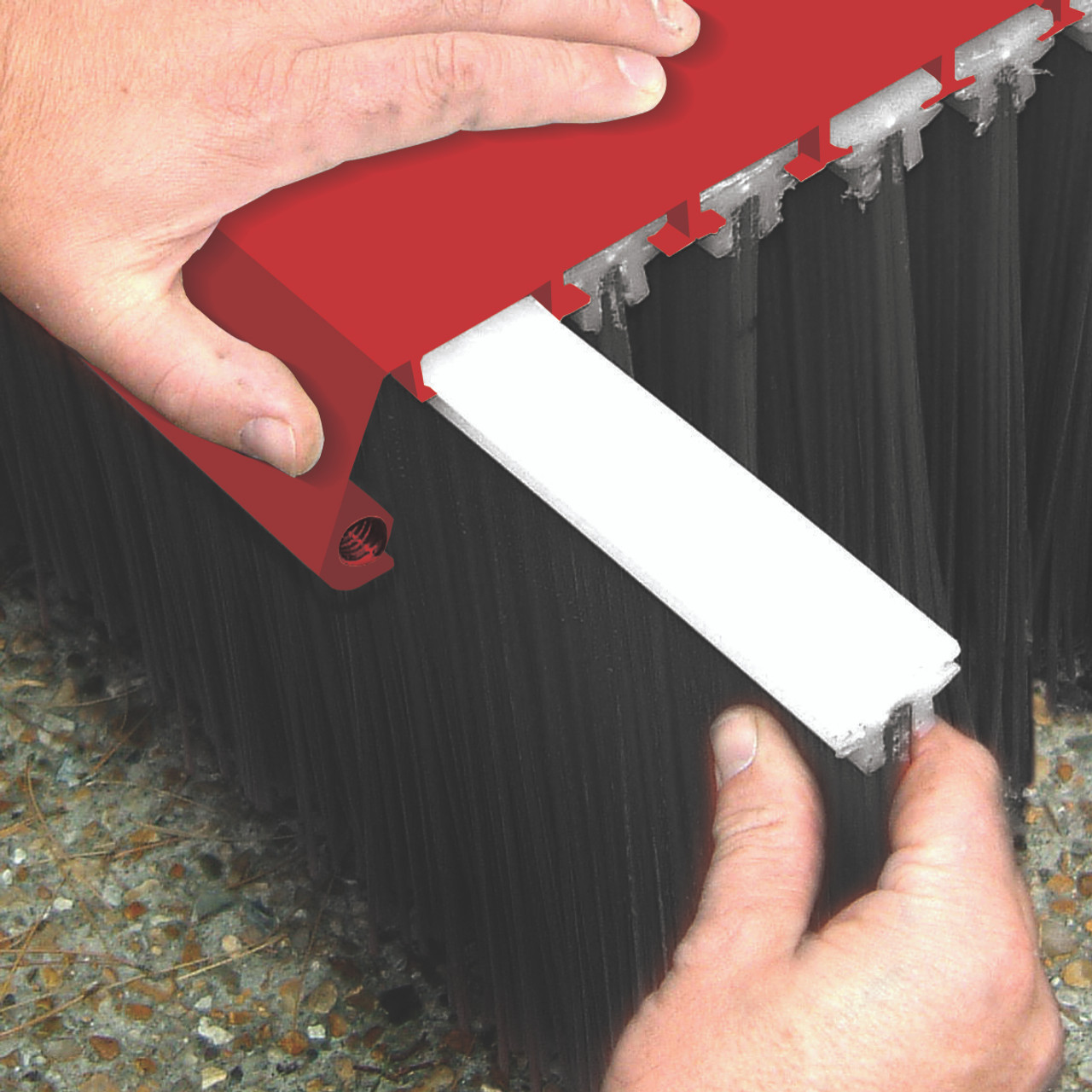 Forklift Mounted Broom - Value Series Replacing Brushes