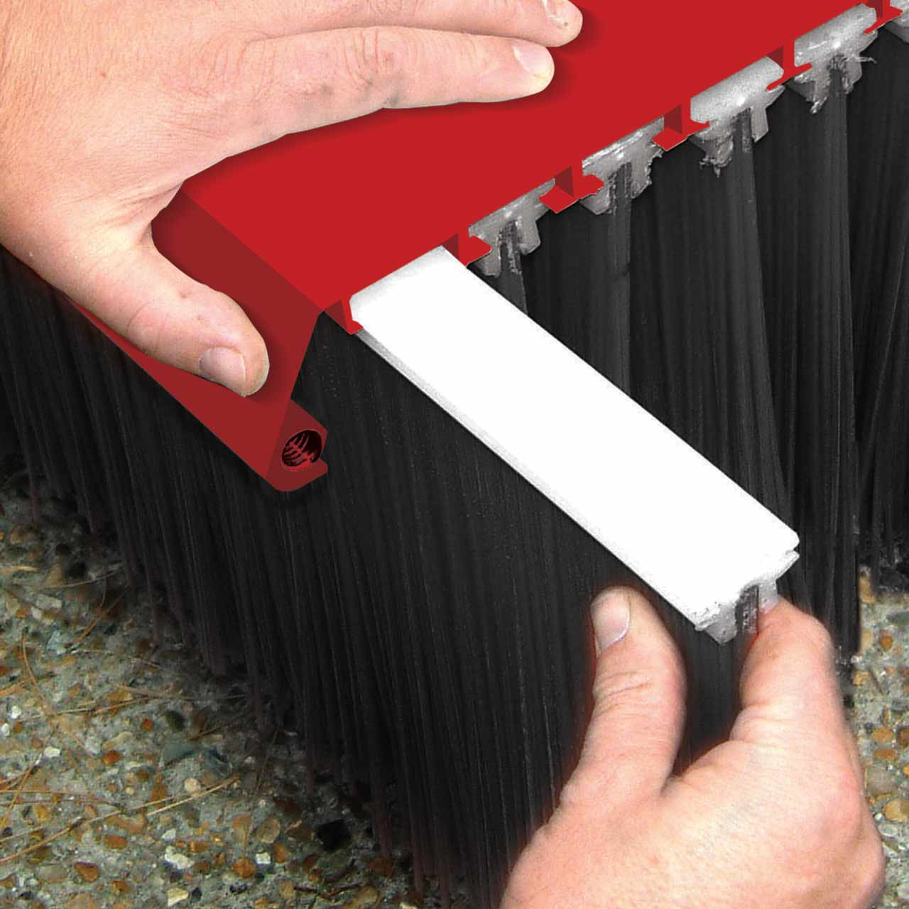 Forklift Mounted Broom - Value Series Replacement Brush Kit