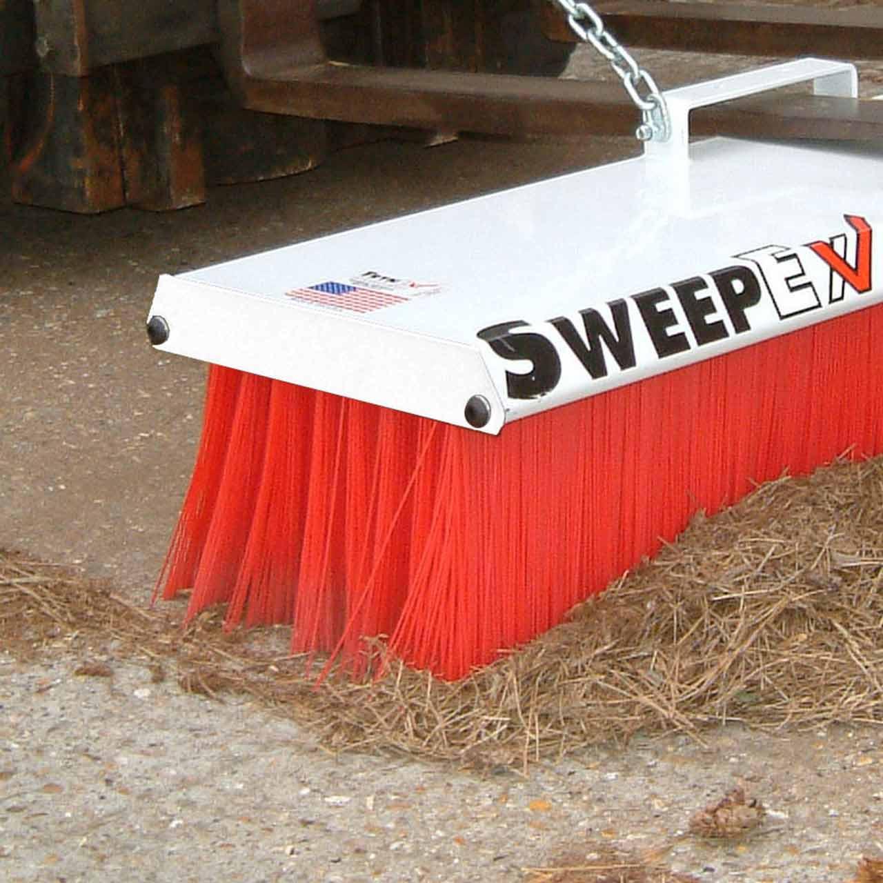Forklift Mounted Broom - Pro Series Sweeping Floor