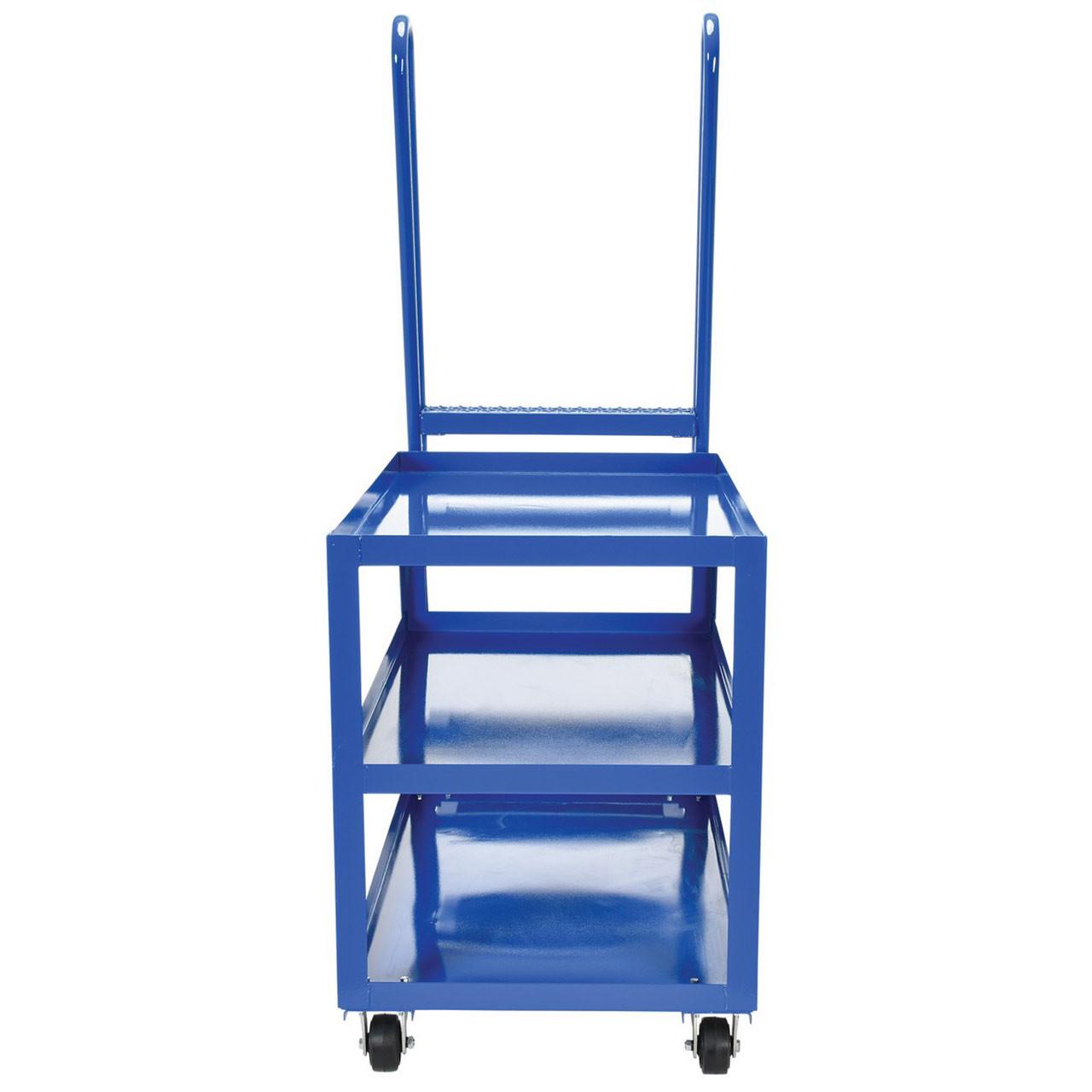 Hi-Duty Stockpicker Cart Front View