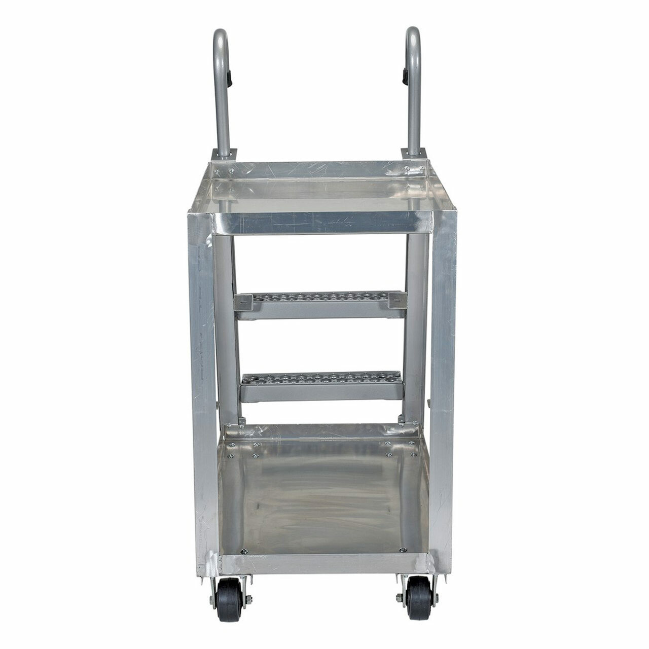 Aluminum Stockpicker Cart Front View
