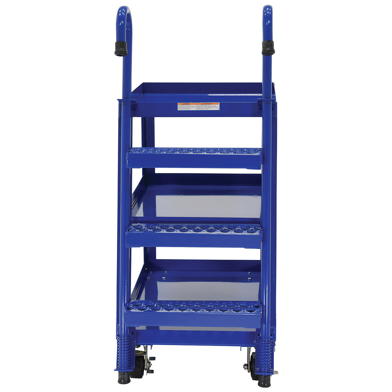 Steel Stockpicker Cart Rear View