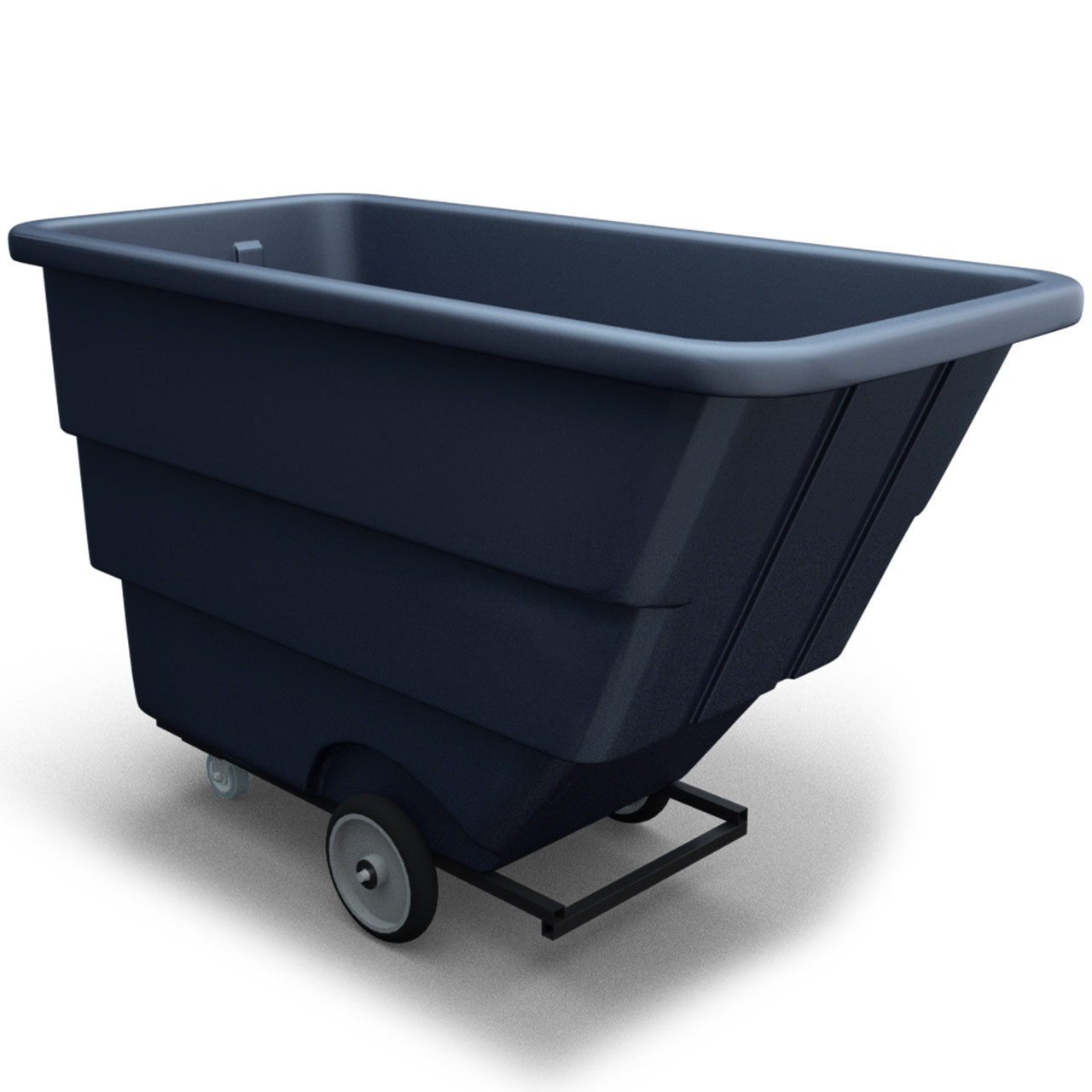Tilt-Trux Bin Cart Diagonal View
