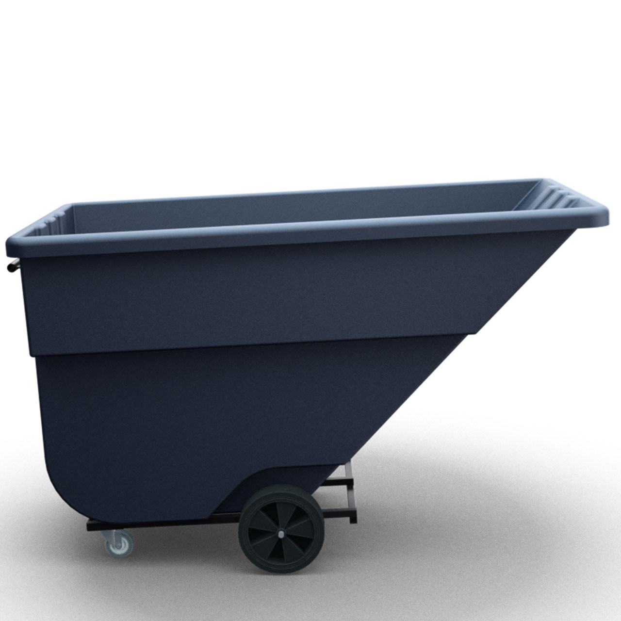 Tilt-Trux Bin Cart Side View