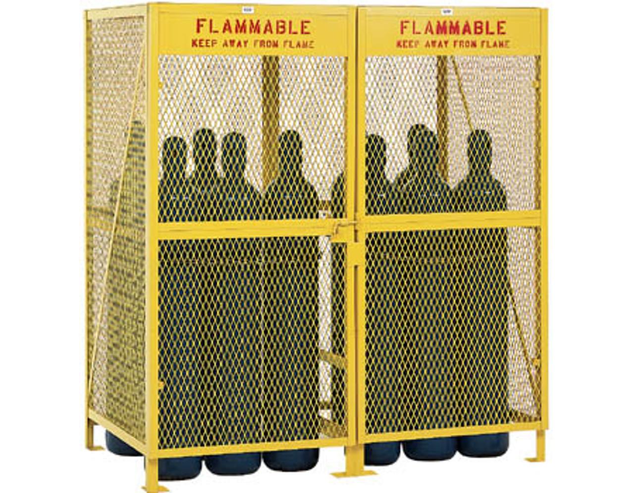 Vertical Gas Cylinder Storage Cabinets