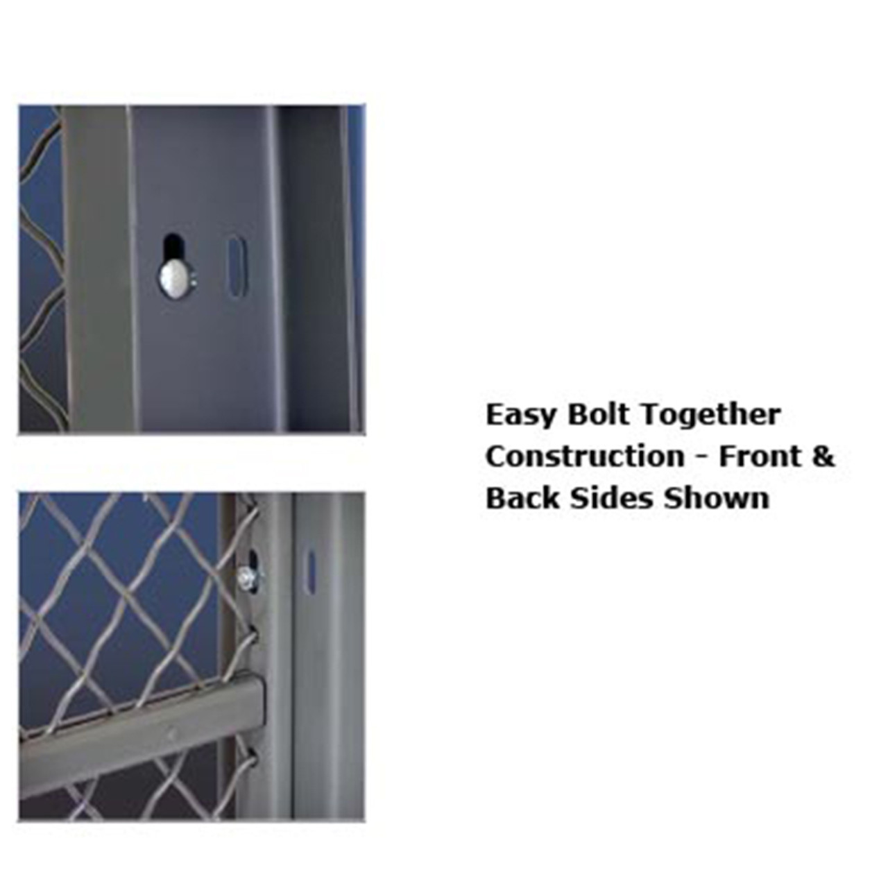 Wire Cage Easy Bolt Together Construction