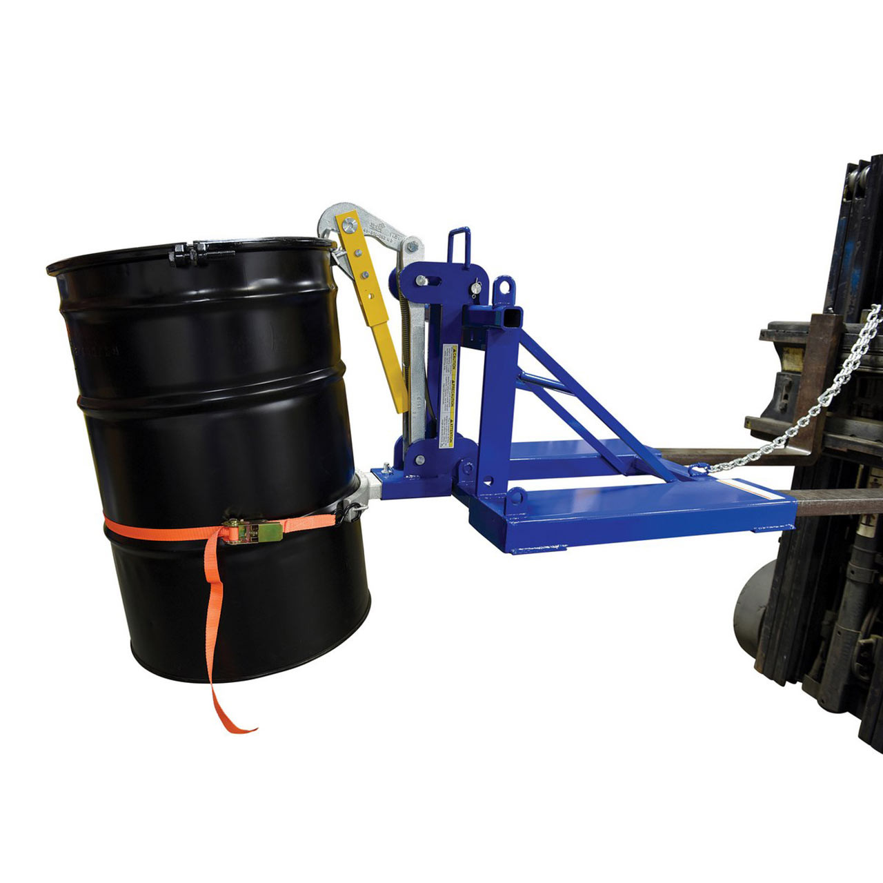Automatic Drum Lifter With Drum