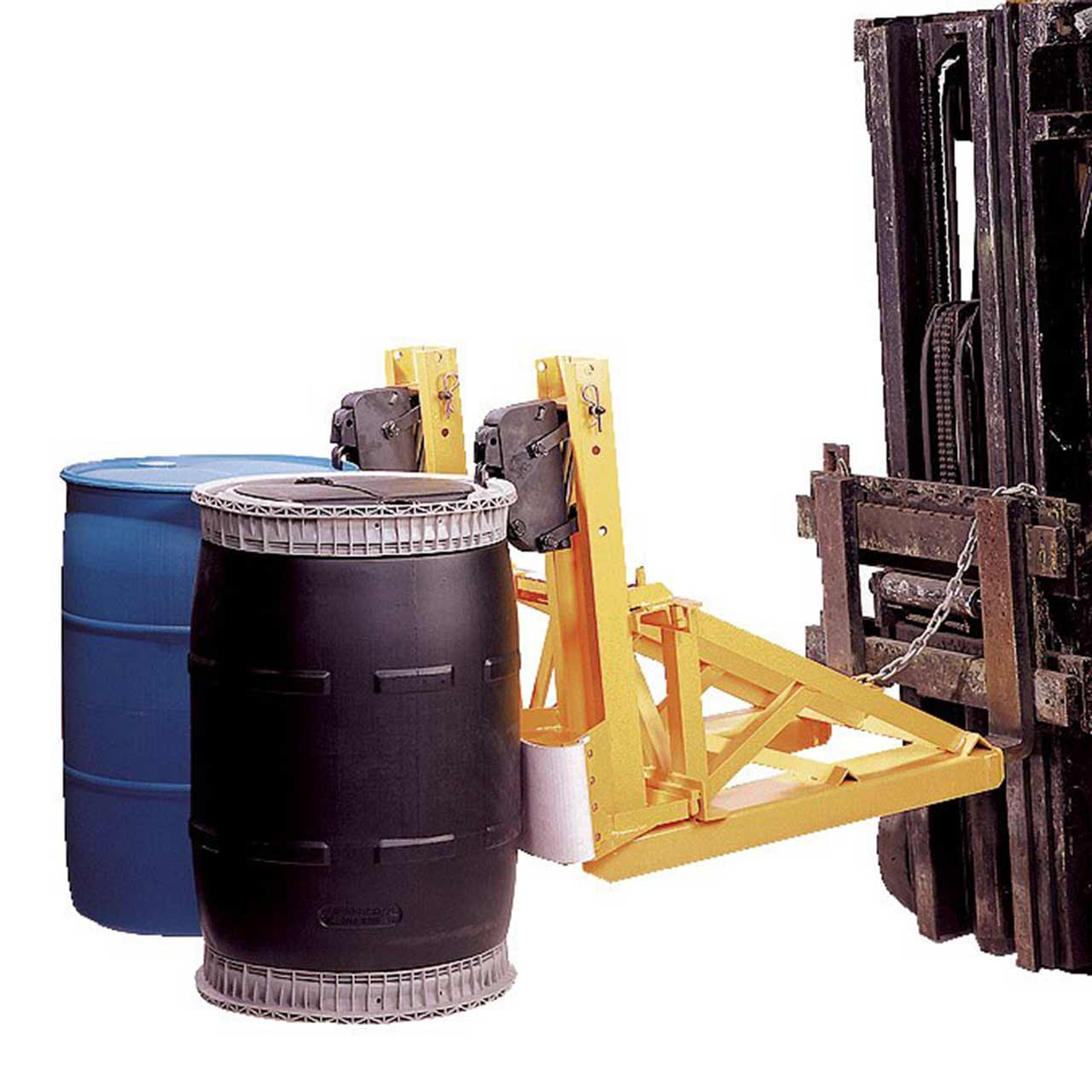 Double Fork Mounted Drum Lifter