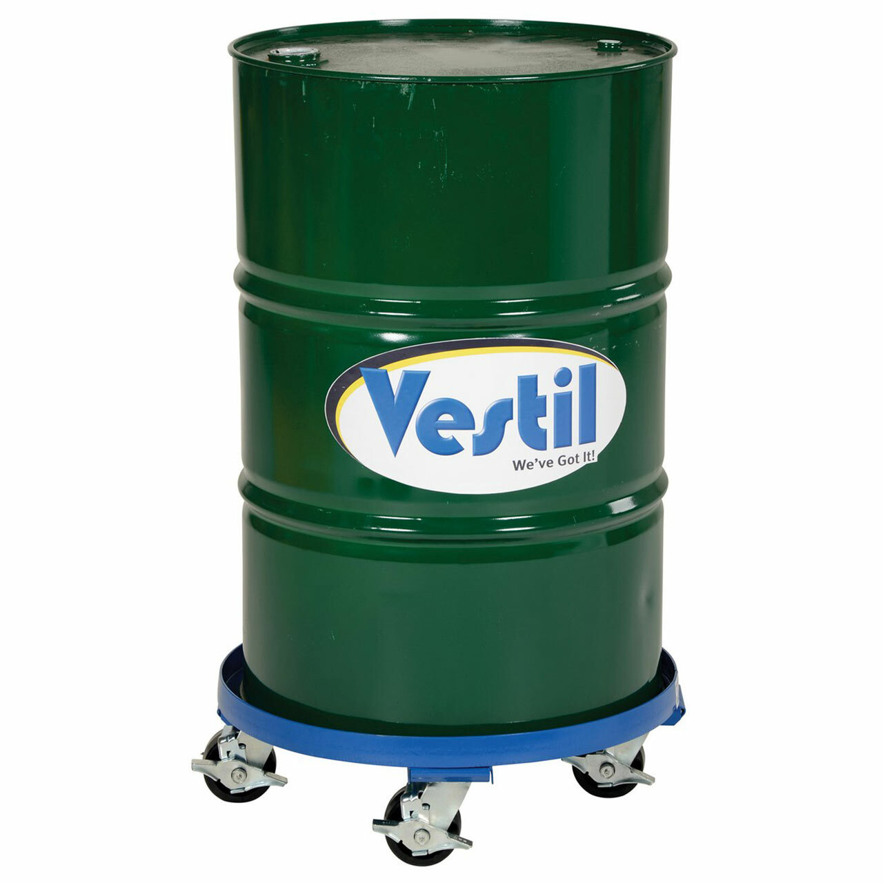 Mobile Drum Dollies With 55 Gallon Drum