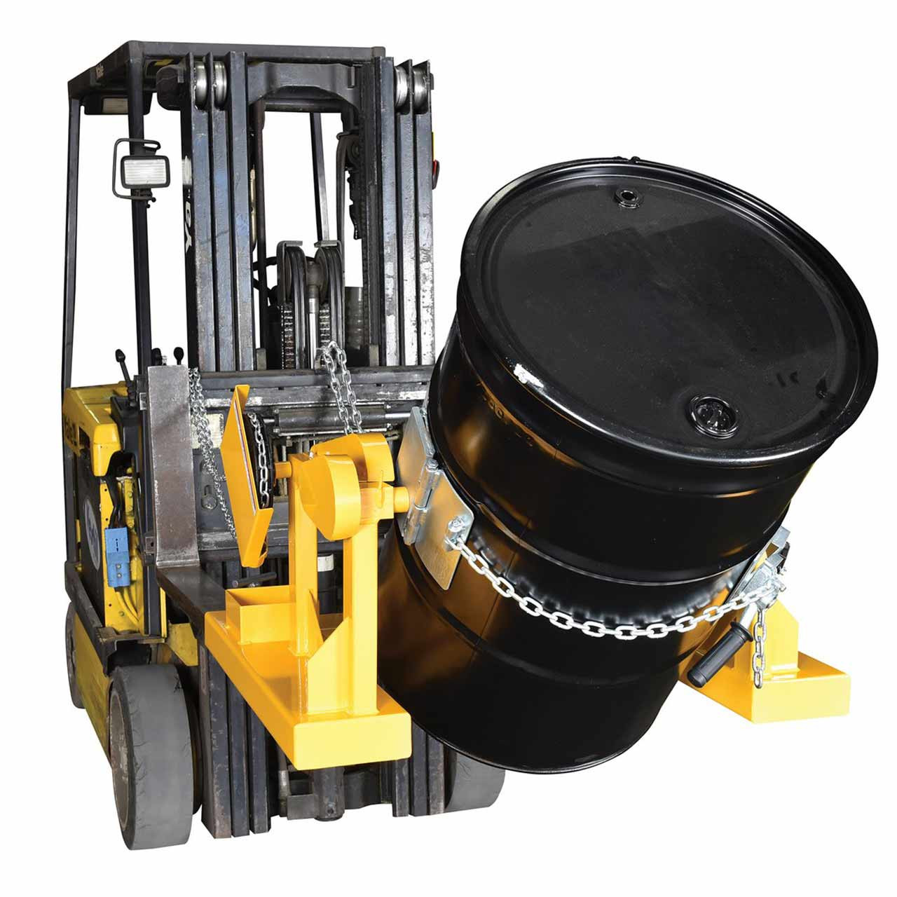 Fork Mounted Drum Carriers/Rotator On Forklift