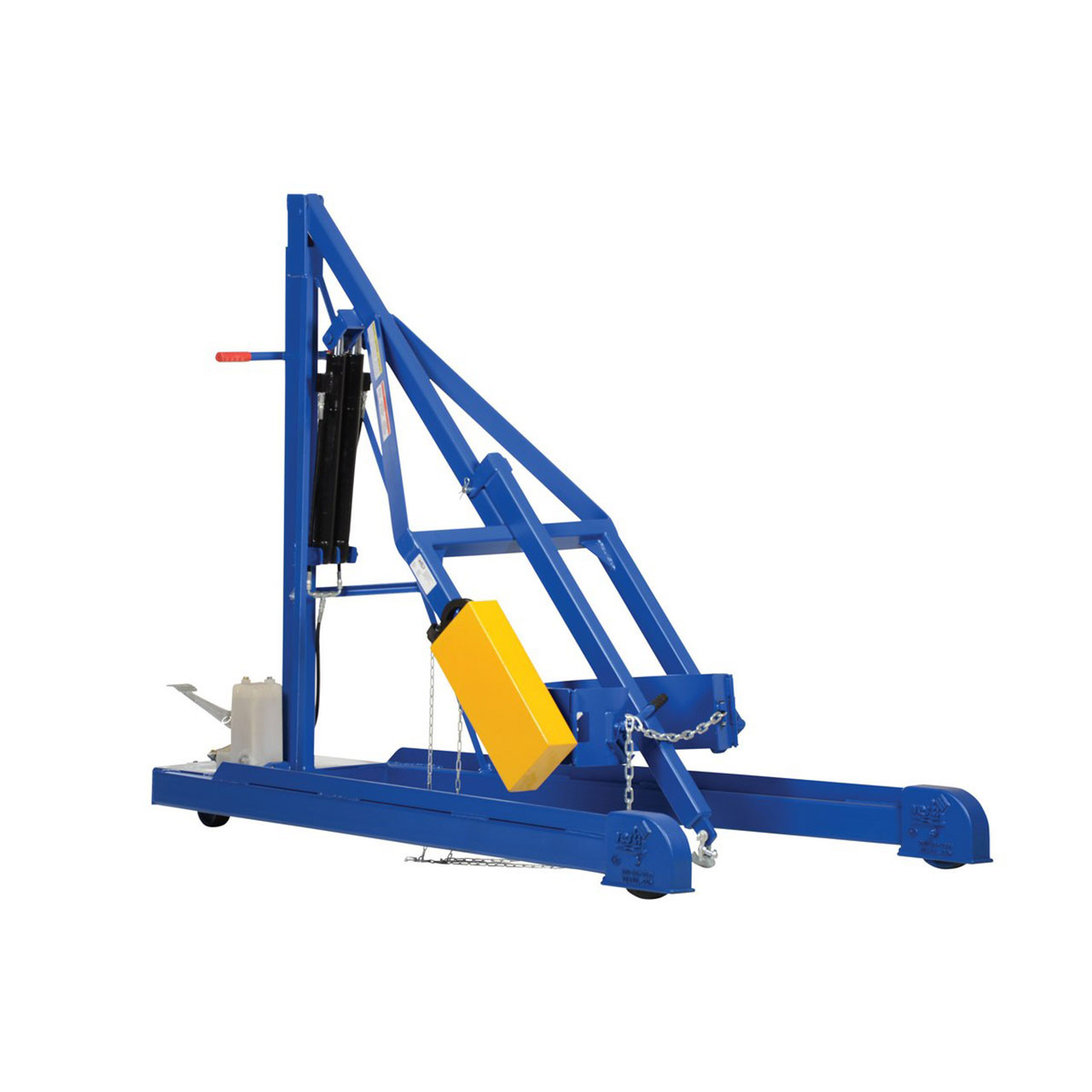 Hydraulic Drum Carrier/Rotator/Boom Side View