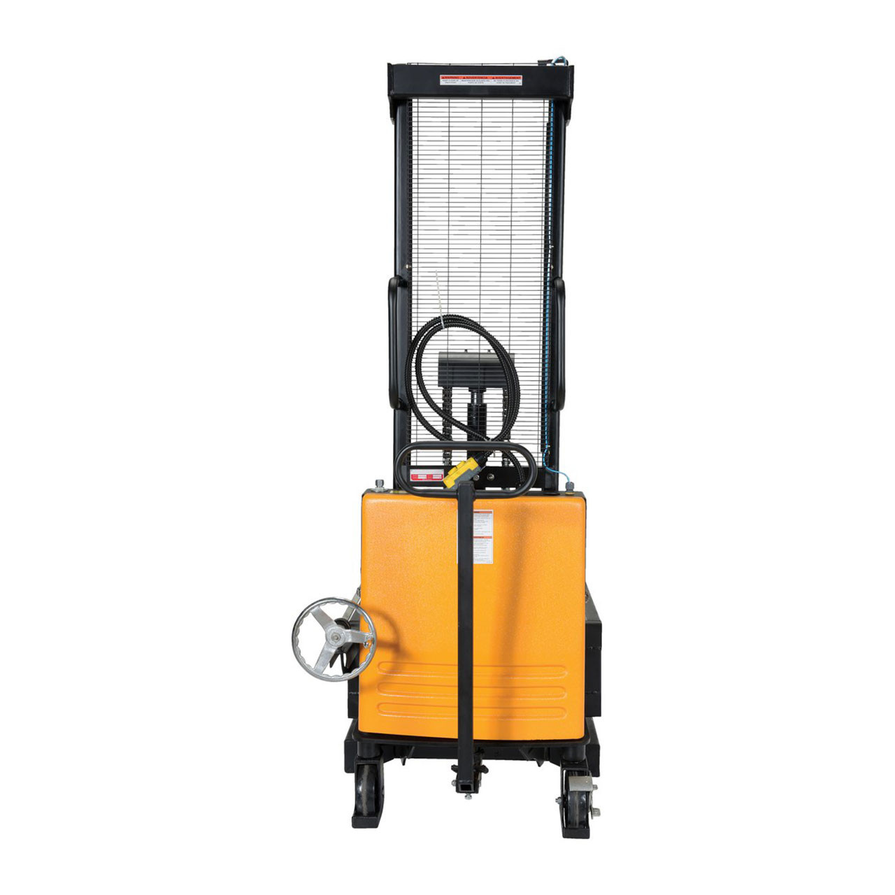 Portable Drum Lifter/Rotator/Transporter Rear View