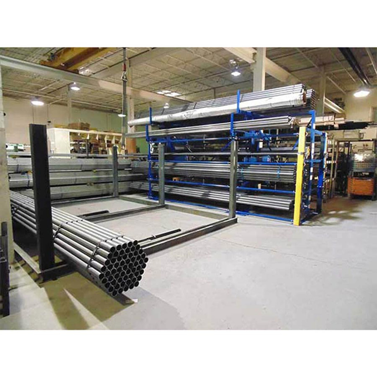 Crank-Out Cantilever Racking In Action