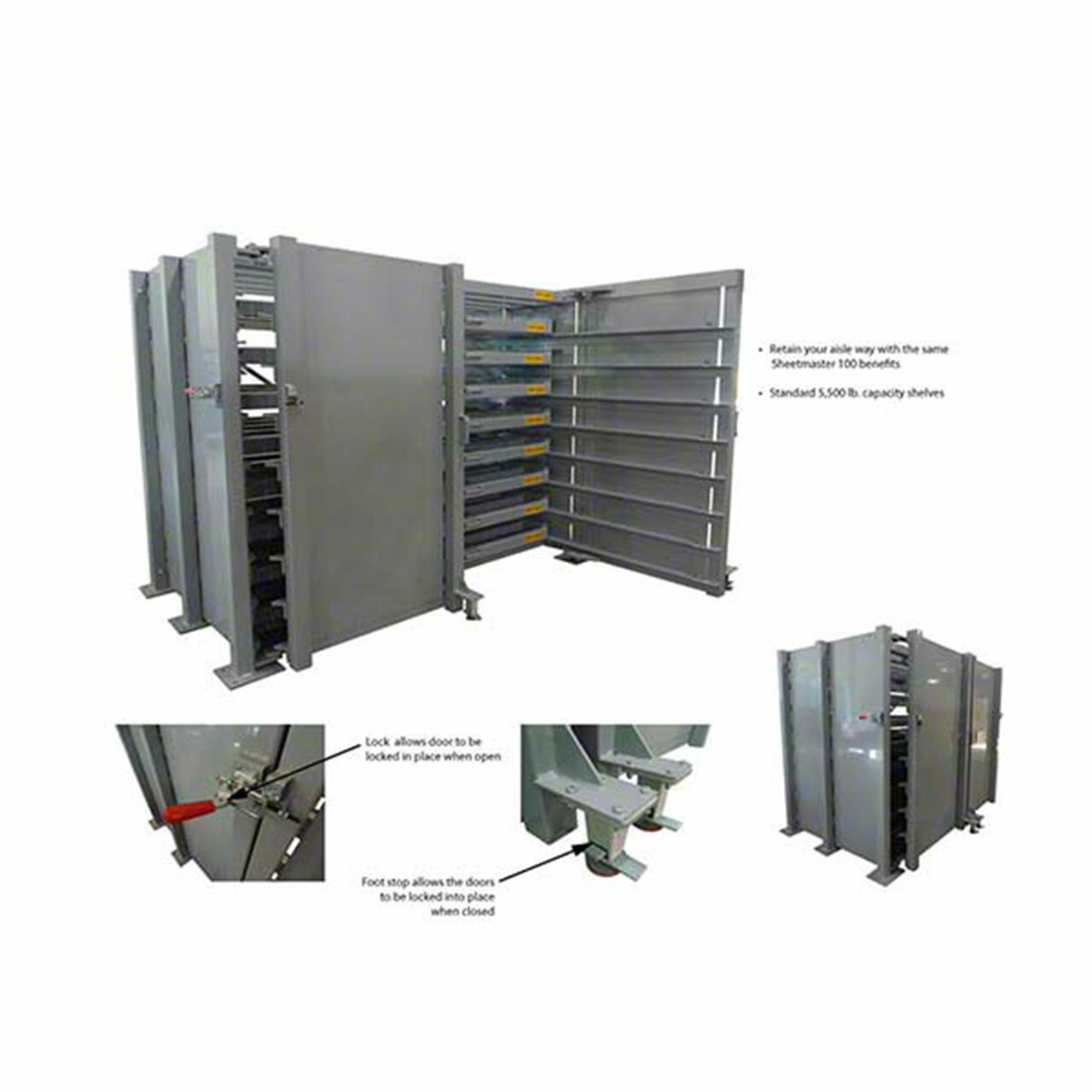 Sheetmaster Sheet Metal Storage Rack Discription