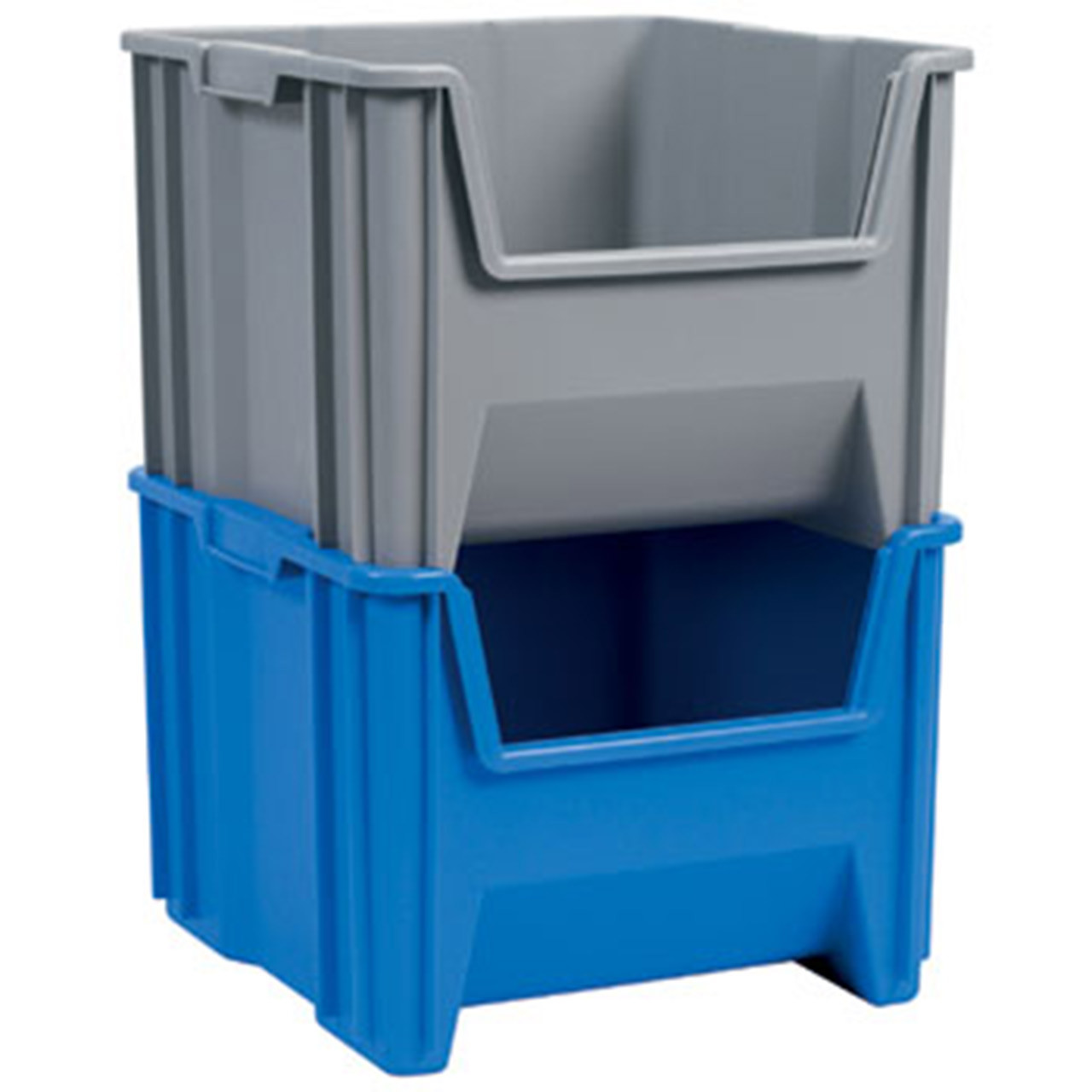 Akro-Mils Stack and Store Plastic Totes