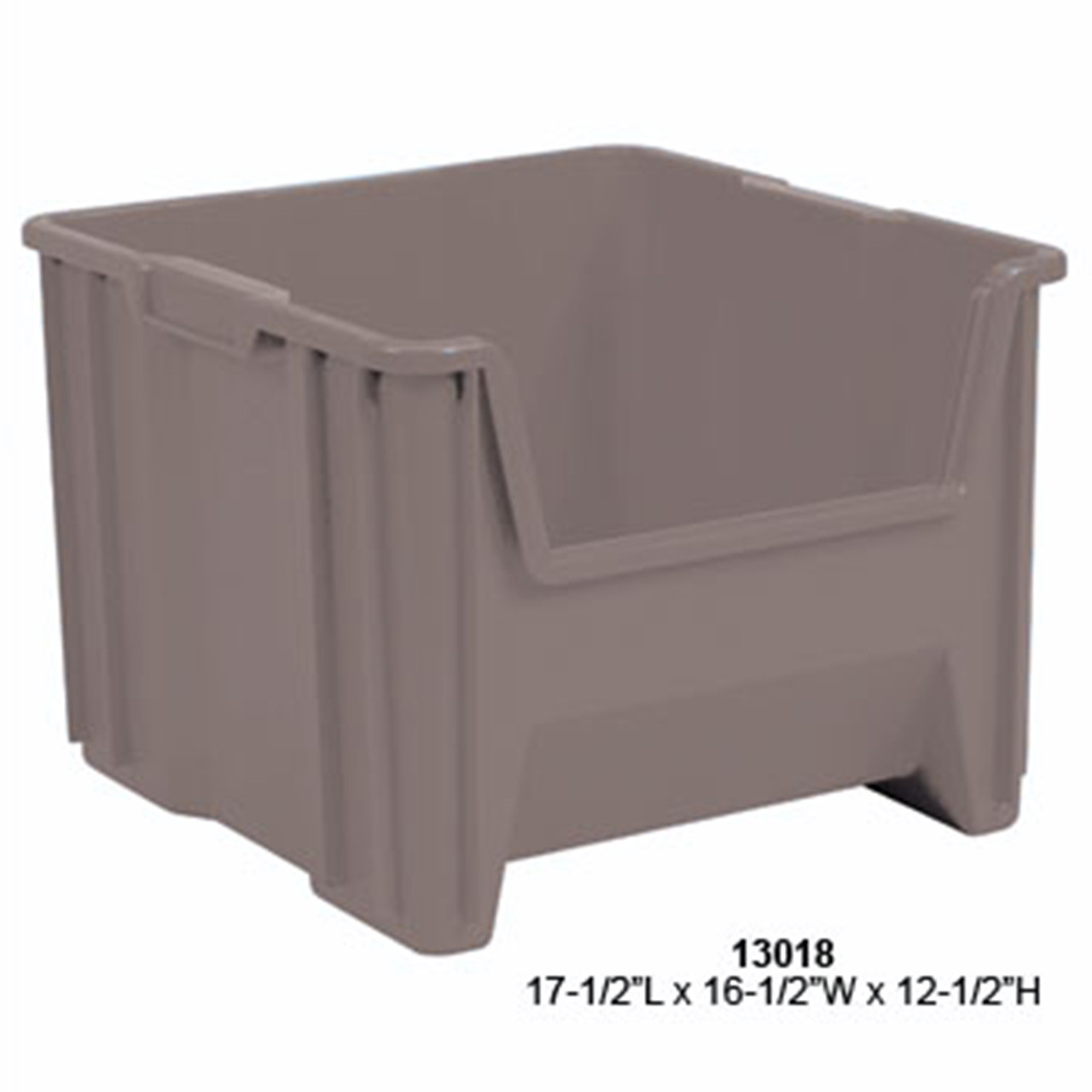Akro-Mils Stack and Store Plastic Tote