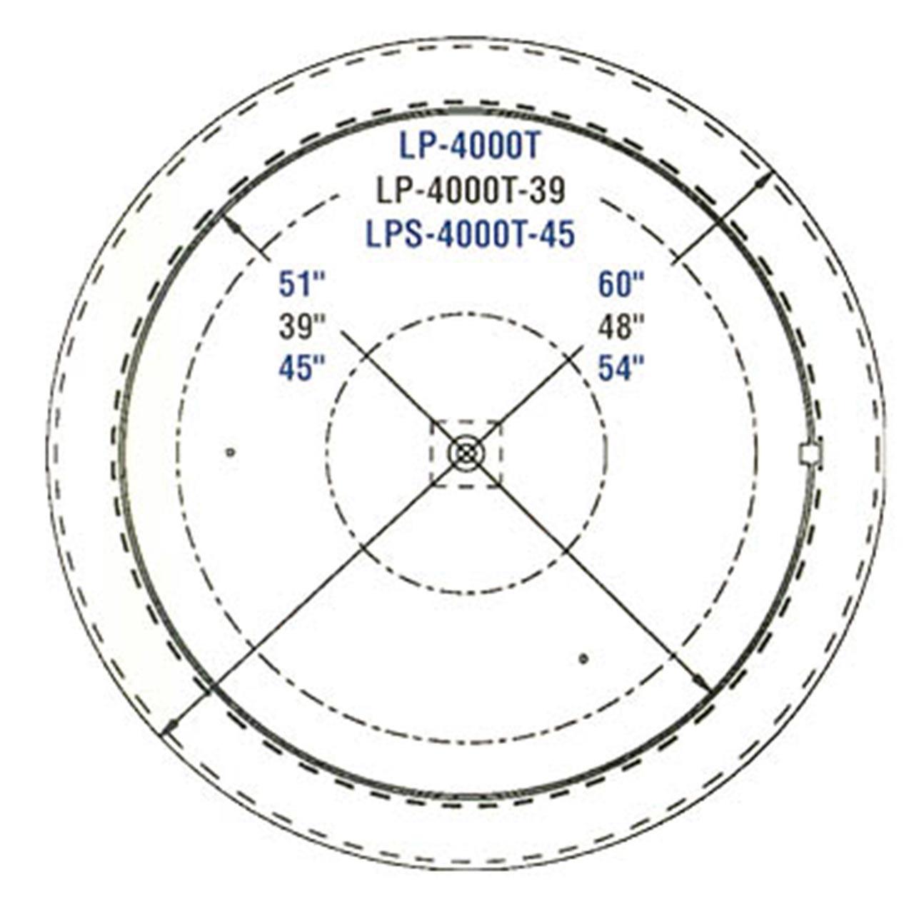 Thin Spin Pallet Carousel Diagram