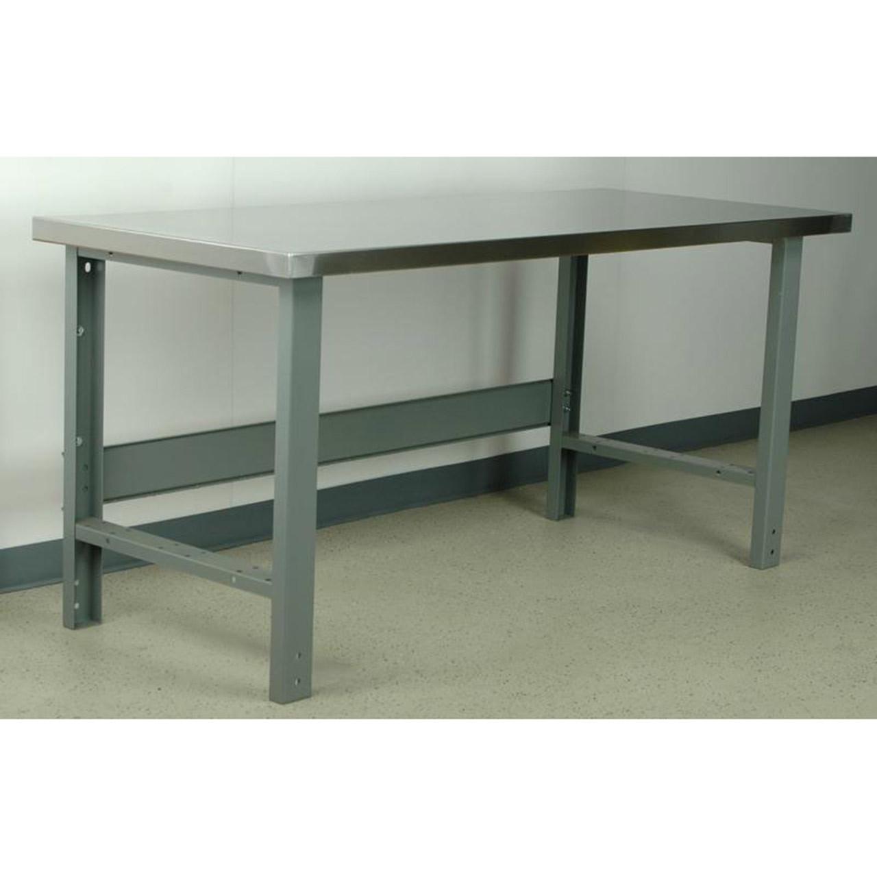 Standard Industrial Workbench Stainless Steel