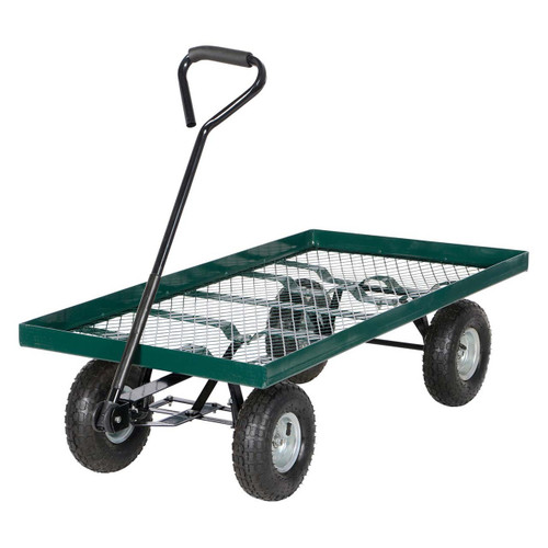 Easy maneuverability and rugged design