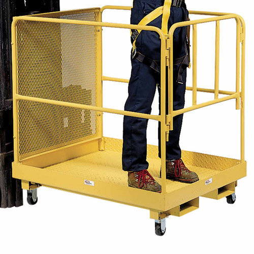 Polyolefin Casters for Lift Platforms