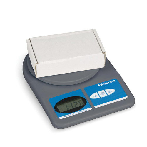 This basic office scale can weigh letters, packages and more up to 11 lbs.