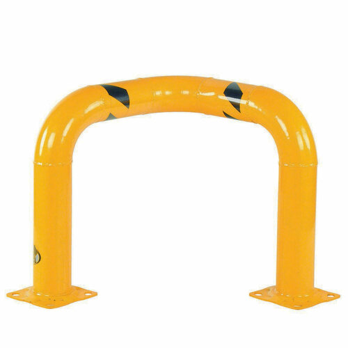 "Vestil 90° corner elbow machinery guard - 24"" x 24"" x 4"""
