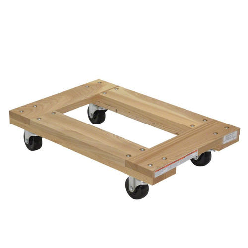 Flush Deck Hardwood Dolly