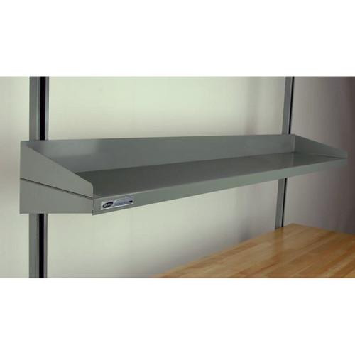 Workbench Full-Width Steel Shelve Flat With Lips