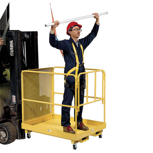 Reach higher with these safe lift platforms