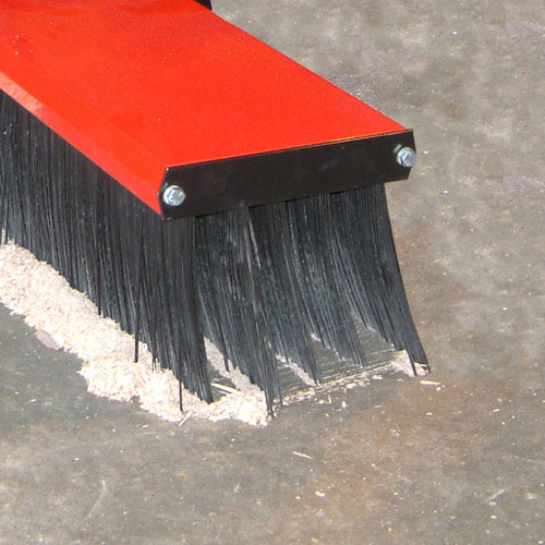 Forklift Mounted Broom - Value Series Sweeping Floor