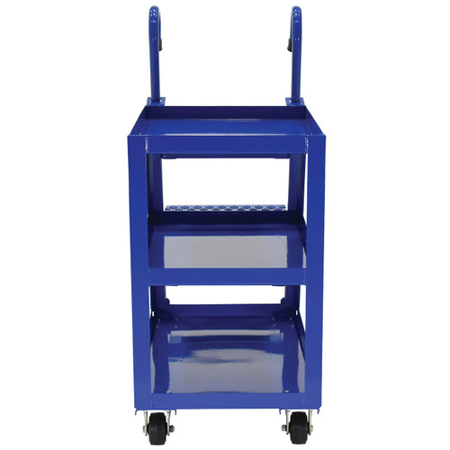 Steel Stockpicker Cart Front View