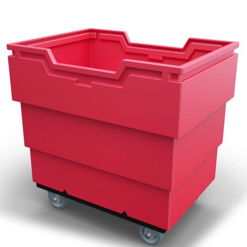 Heavy Duty Utility-Trux Bin Cart Red