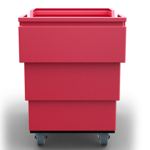 Heavy Duty Utility-Trux Bin Cart Front View