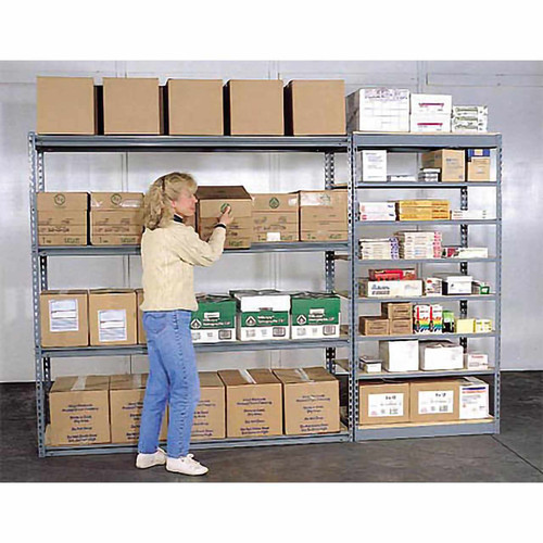 Low Profile Boltless Shelving Starters In Action